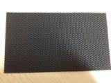 correia transportadora do PVC de 2mm com teste padrão raso do diamante para a escada rolante e a logística