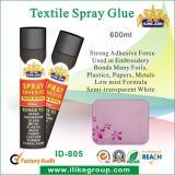 Aderente de cola de spray de têxteis claro