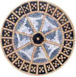 Mattonelle di mosaico variopinte, mattonelle di marmo della stanza da bagno da vendere