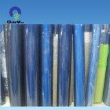 梱包材薄青く適用範囲が広いPVCフィルム正常で明確で柔らかいPVCフィルム