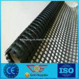 De zelfklevende Met een laag bedekte Versterking Geogrid ASTM D 5261 van de Glasvezel Bitumen