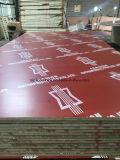 la película roja de 15mm/18mm/21m m hizo frente a la madera contrachapada para la construcción