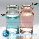 fiale di vetro 10ml + tappo di gomma di 20mm + protezioni di 20mm per gli usi degli steroidi