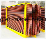 ドライヤーおよび圧縮機のための中国のひれ付き管の熱交換器