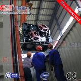 Vier Rollen-dreistufiges Zerkleinerungsmaschine-Gerät für harte Steinerz-Kohle