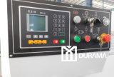 QC12y Máquina de cizalladura hidráulica de la viga del oscilación (regulador de Estun E21 NC)