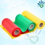 O fabricante não tecido Girar-Ligado da tela do rolo TNT da tela, pano não tecido biodegradável, exporta os Ss hidrófilos não tecidos