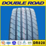 Pneu de venda dobro 11r22.5 11r24.5 do caminhão pesado de baixo preço da estrada o melhor abre o pneu do reboque do ombro