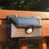 Lumière solaire de degré de sécurité de détecteur de mouvement du modèle 2017 neuf (RS-2034)