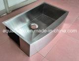 Luxury Undermount Taça único pia de cozinha de aço inoxidável (ACS3320A1)