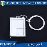 昇進のギフトの多彩な盛り土のロゴの長方形の金属のKeychainのアクセサリ