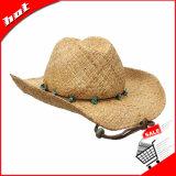Sombrero de la manera del sombrero de paja de la rafia