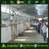 Гальванизированная высоким качеством Prefab дом лошади стальной структуры