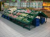 Soporte vegetal de la demostración del metal del supermercado de la tienda al por menor