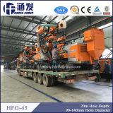 Le matériel Drilling de l'air Hfg-45 se réunissent avec le compresseur d'air