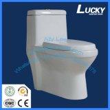Siège des toilettes en céramique de salle de bains économique de la courroie 250mm/300mm de Jx-9# avec le prix d'Economcal