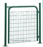 深緑色のホーム及び庭の単一のゲート、二重ゲート