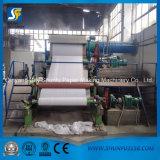 Papier de toilette productif élevé à échelle réduite faisant la machine
