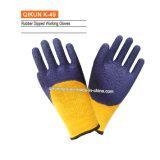 Полиэфир датчика K-48 13/Nylon перчатки латекса покрынные ладонью работая