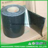 Tubo negro o amarillo del betún del color que envuelve las cintas para las juntas de tubo
