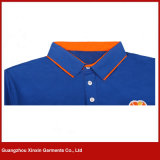 Stampa unisex bianca personalizzata della camicia di polo (P172)
