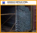 Tubo de acero que suelda para la estructura de acero y construir