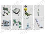 Prodotti di sistema medici della conduttura di ingegneria del gas O2/Air/VAC/N2o/CO2