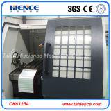 Torreta pequena automática cheia Ck6125A da ferramenta do torno da máquina do CNC