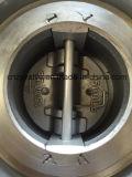 API594 si raddoppiano doppia valvola di ritenuta della cialda della flangia del piatto