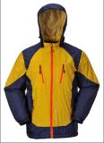 Vestuário de esqui respirável Taslon com capuz