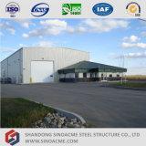 Полуфабрикат здание рамки стальной структуры