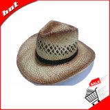 인쇄된 Seagrass 밀짚 카우보이 선전용 모자