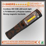 Luz de trabajo recargable inalámbrica COB 3W