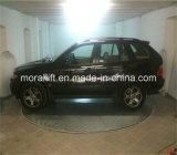 Rotation de la voiture pour l'affichage de la platine, intérieur, extérieur, un garage