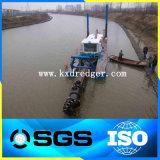 중국 큰 크기 유압 모래와 진흙 절단기 준설선