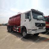 2017 heißer Verkauf Sinotruk HOWO 6X4 16000 Liter Vakuumabwasser-Absaugung-Tanker-