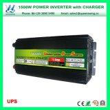 UPS 충전기 (QW-M1500UPS)를 가진 태양 변환장치 1500W에 의하여 변경되는 힘 변환장치