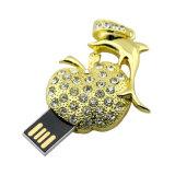 8GB Appleの形USBのペン駆動機構のフラッシュディスク宝石類のギフト