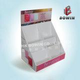 小売りのボール紙の構成のカウンターのディスプレイ・ケースの単位のボール紙の立場の表示