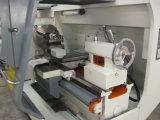 Petite pipe de PVC de commande numérique par ordinateur de haute précision filetant le tour Cqk130