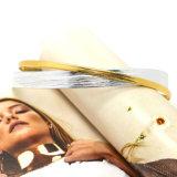 2つのカラーは女性の方法宝石類のための二重層のチョークバルブのネックレスに革を張る