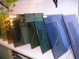 安い12mmガラステーブルの上か表の表面ガラス