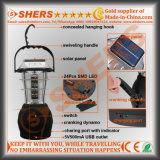 Solar24 SMD LED Licht für das Kampieren mit Dynamo (SH-1990S)