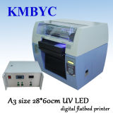 A3 impresora ULTRAVIOLETA de alta velocidad de la caja del teléfono celular de la talla LED