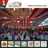 Evento de gigantes tendas com forro & cortinas para a conferência