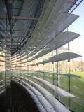 Abat-jour de rouleau vénitiens en aluminium de parasol motorisé et manuel