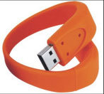 Vara do USB do bracelete da memória Flash do USB do Wristband do PVC