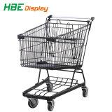 금속 강철 슈퍼마켓 쇼핑 트롤리 손수레