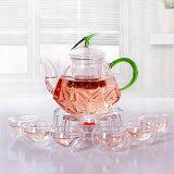 Handmade теплостойкmNs чайник боросиликатного стекла (CHT8134)