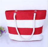 Сшивка Canvas пакет Отдых на пляже покупки мешков мешок для полотенного транспортера